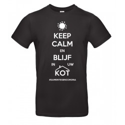 Tshirt Keep calm en blijf...